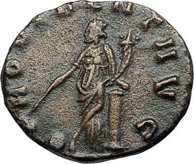 CLAUDIUS II Gothicus 268AD Rome Authentic Ancient Roman Coin PROVIDENTIA i68010