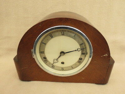 Vintage Elliott Westminster Chime Mantel Clock For Tlc
