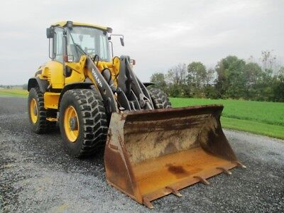 2012 Volvo L50G Articulated Wheel Loader, Cab, Air, Heat, 3rd Valve, 1698 Hours