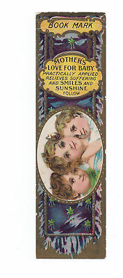Victorian Dr D. B. Hands Advertising Bookmark - Trade Card