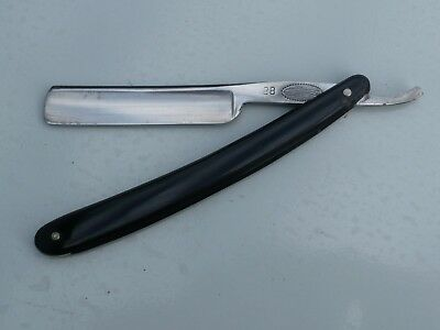 """COUPE CHOUX ANCIEN Vintage 1910s Straight Razor N.&H. CLAUBERG """"THE FISH"""""""
