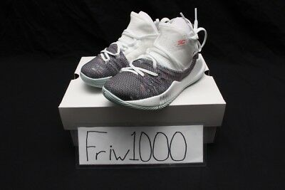 1349a43dcb8 UNDER ARMOUR CURRY 5 Ps Sizes White 3020742-107 -  56.86