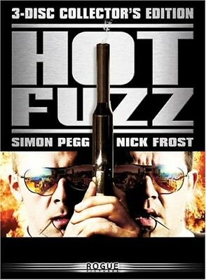 HOT FUZZ New DVD 3 Disc Collector's Edition Edgar Wright Simon Pegg Nick Frost