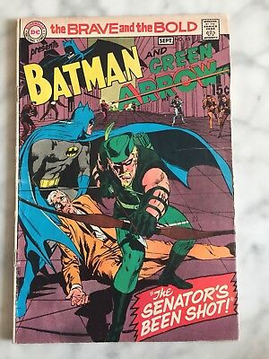 The Brave and the Bold #85 (Aug-Sep 1969, DC) VG/FN Green Arrow Dons New Costume
