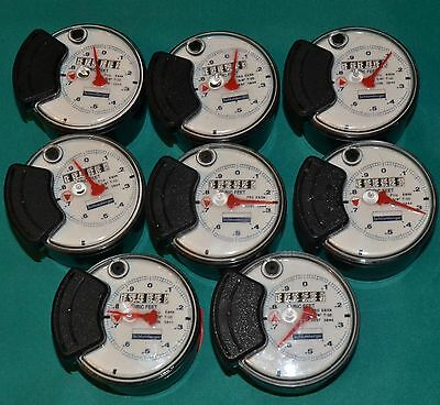 8 Water Meters Shlumberger 3844 Pro E65N T-10 5/8 Register Head Fast Shipping