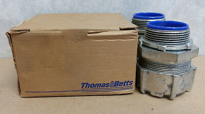 Box of 2 Thomas and Betts 5336 Straight Fitting