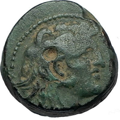 ALEXANDER I BALAS Authentic Ancient 152BC Seleukid RARE R1 R2 Greek Coin i68052