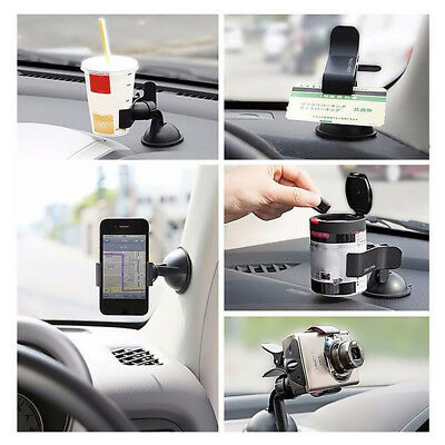 Universal 360° Car Vehicle Accessory Rotating Phone Windshield Mount GPS Holder