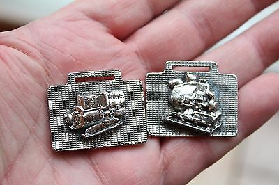 Pair Of Vintage/antique Watch Fob - Homelite Engines