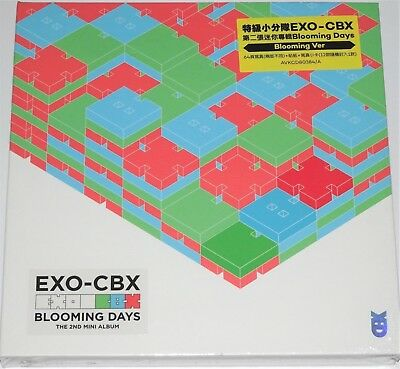 EXO-CBX Blooming Days Blooming Ver TW Ltd. 64P Booklet Sticker Card Pin Set #999