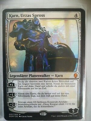 Karn, Urzas Spross (Dominaria) *mint* from booster to sleeve