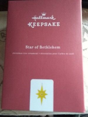 NIB 2016 Hallmark Keepsake Star Of Bethlehem Metal Ornament QGO1341