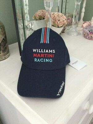 BNWT Men's Hackett Williams Martini Racing Cap, One Size, Tagged