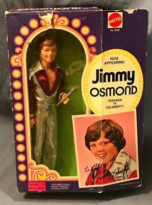 Vintage Mattel Jimmy Osmond Action Figure No 2200 In Box Doll