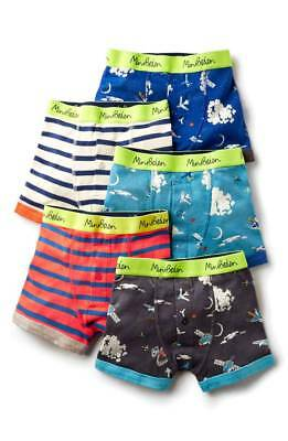 $45 NEW MINI BODEN 5 Pack Boxers size: 6-7