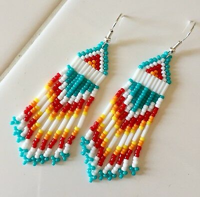 Native American Beaded Earring Patterns Free Famous Earring 2018