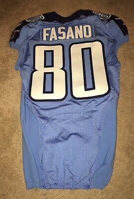 finest selection 5d2ad 4d117 85 CHASE Coffman Authentic Nike Tennessee Titans Game Issued ...