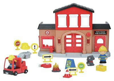 Chad Valley Tots Town Fire Station Playset 18+ Months