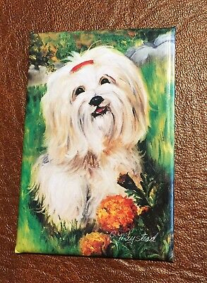 Best Friends Ruth Maystead Magnet NEW LHASA APSO
