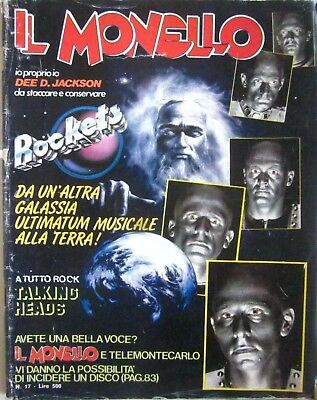 C3  Il Monello N.17 - 25/4/1980- Rockets/ Talking Heads/lear-Malgioglio/dee D...