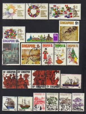 Singapore 1971-1973 Used Selection Cat £94+