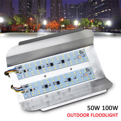 100W 50W LED Flood Light Outdoor Garden Landscape Yard Spot Iodine-tungsten Lamp