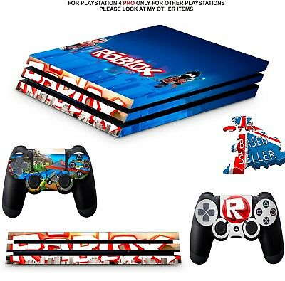 roblox ps4 pro skins decals wrap textured vinyl ps4 pro version