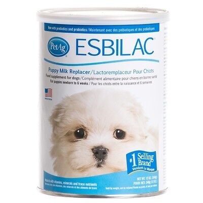 Pet Ag Esbilac Powdered Milk Replacer for Puppies and Dog Food Supplement 12z