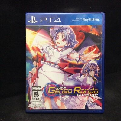 Touhou Genso Rondo: Bullet Ballet (PlayStation 4, 2016) BRAND NEW / Region Free