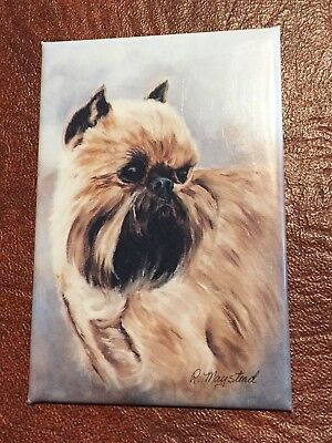 Best Friends Ruth Maystead Magnet NEW BRUSSELS GRIFFON