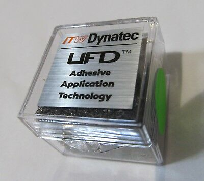 New Itw Dynatec  Industrial Ufd Line Hot Melt Glue Spray Nozzle 118510