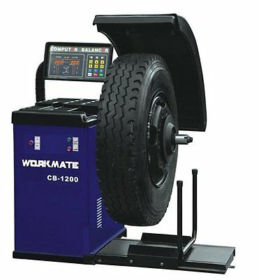 Professional Electronic Truck & Car Wheel Balancer 250W/415V/3PH (CE Standard)