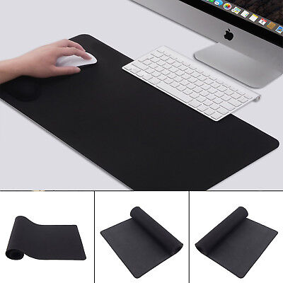 Extended XXL Gaming Mouse Pad Mat 90cm*30cm Big Size Desks Black Anti-Slip Large