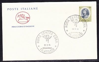 "Italy 1974 Painters - Borromini  ""Official"" First Day Cover Unaddressed"