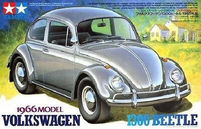 Tamiya 24136 1/24 Scale Model Car Kit VW Volkswagen 1300 Beetle '66 Classic