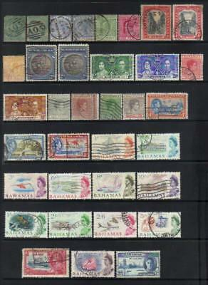 (A85) Bahamas Qv-1965 Used Selection Cat £125