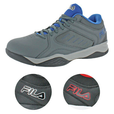 7dc488883a52 Fila Men's Bank Casual Lace-Up Low-Top Court Basketball Athletic Shoes