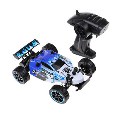 1:20 2.4Ghz Remote Control Off-Road Truck High Speed 15km/h RTR RC Car Blue