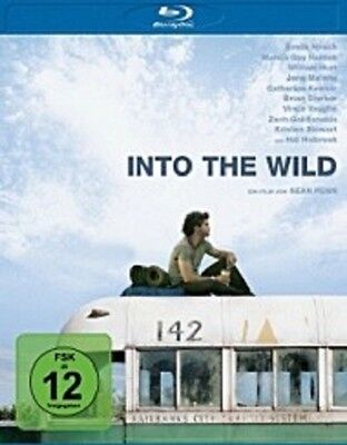 Into The Wild Blu Ray Abenteuer Drama Sean Penn New