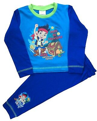 Boys Jake and The Neverland Pirates Pyjamas Ages 1 to 5 Years (JP77)