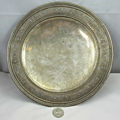 Antique International Sterling Wedgwood H33 Footed Sandwich Plate