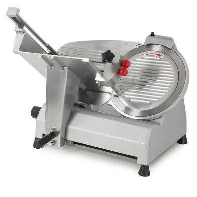 """12"""" Blade Electric Meat Slicer Deli Slice Veggies Cutter Home Kitchen Fixed Knob"""