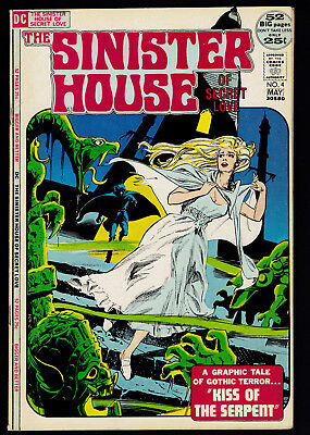 1972 DC The Sinister House of Secret Love #4 FN-
