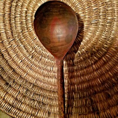 1700's Wooden Southwestern Spoon Native American Indian