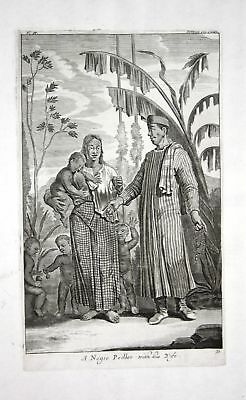 1730 Indonesia Asia native people Kupferstich engraving Churchill