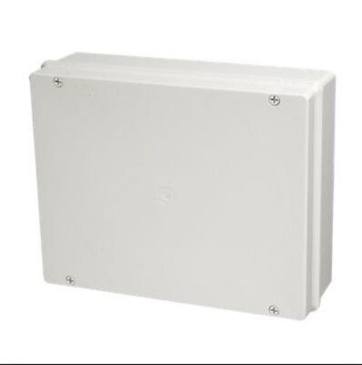 Stag SE08 IP56 Electrical Enclosure Weatherproof Outdoor Case Box 240x190x90mm