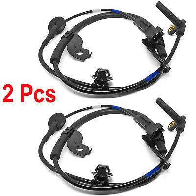 2Pcs Front Right ABS Wheel Speed Sensor 4670A032 For Mitsubishi Lancer Outlander