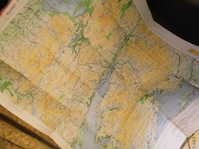 Killarney In West Ireland:vintage Map 1954-62:Topographical:explorer Annotates