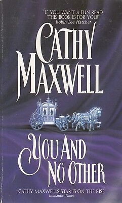 You and No Other - Cathy Maxwell - Avon - Good - Paperback