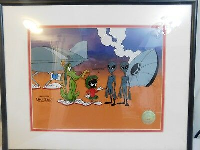 1997 Ameteurs Sericel Marvin The Martian Looney Tunes